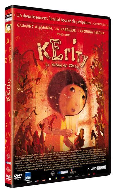 Kerity, la maison des contes / un film d'animation de Dominique Monféry | Monfery, Dominique. Metteur en scène ou réalisateur