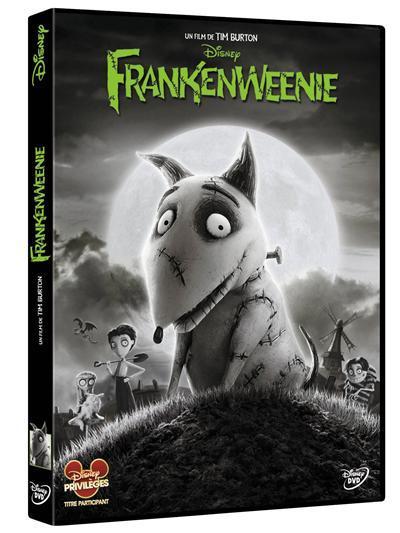 Frankenweenie / un film d'animation de Tim Burton | Burton, Tim. Metteur en scène ou réalisateur
