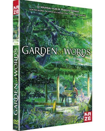 Garden of words (The) / un film d'animation de Makoto Shinkai   Shinkai, Makoto. Metteur en scène ou réalisateur