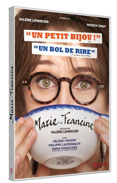 Marie-Francine / un film de Valérie Lemercier   Lemercier, Valérie. Metteur en scène ou réalisateur. Acteur. Scénariste