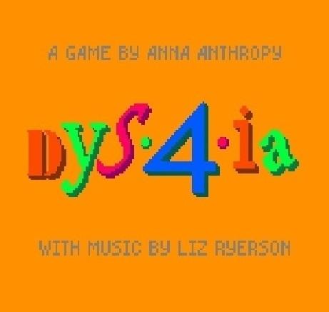 Dys4ia : Jeu vidéo en ligne = PC  
