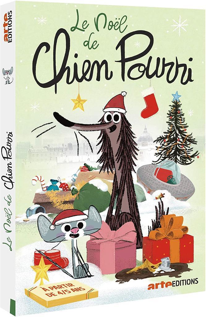 Noël de Chien Pourri (Le) / une série de films d'animation de Davy Durand, Vincent Patar et Stéphane Aubier |