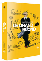Le Grand blond : Le Grand blond avec une chaussure noire ; Le Retour du grand blond / deux films d'Yves Robert | Robert, Yves. Metteur en scène ou réalisateur